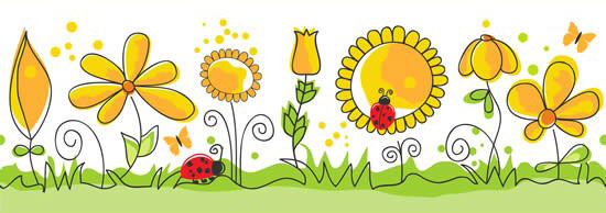 No893-Flowers-of-children-coloured-drawing-or-pattern