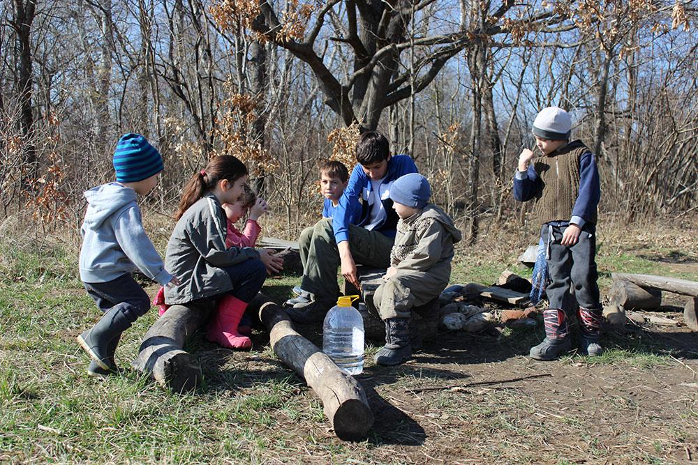 Строительство беседки в поселении родовых поместий Сказочный край