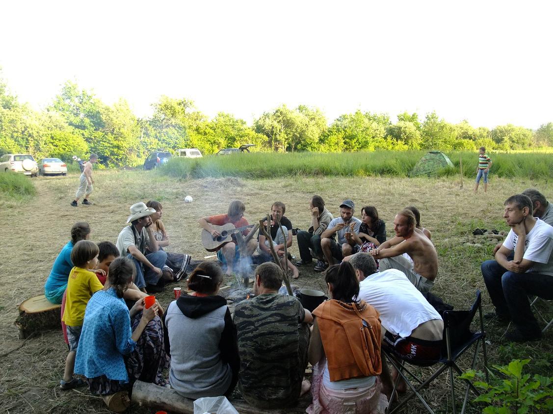 Первые встречи сказочников. Лето 2013г.