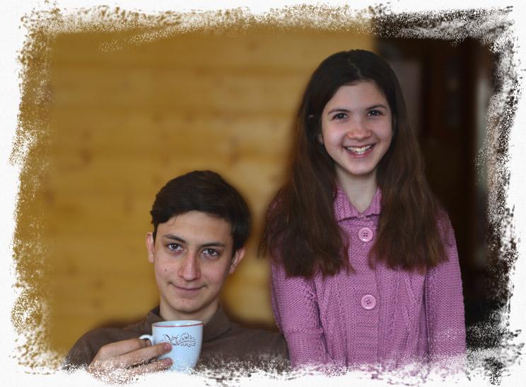 Наши дети - Андрей и Дамира Руденко